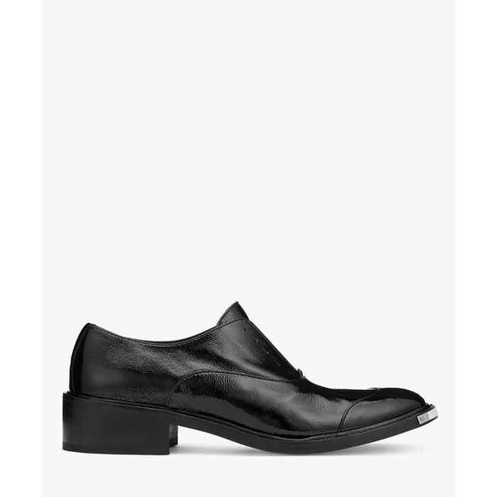 Image for Black leather formal shoes