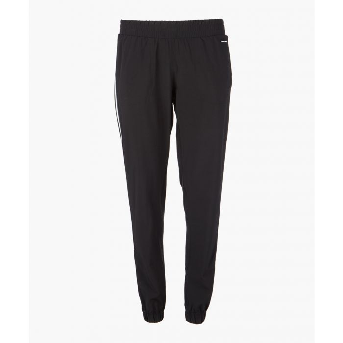 Image for Black striped joggers