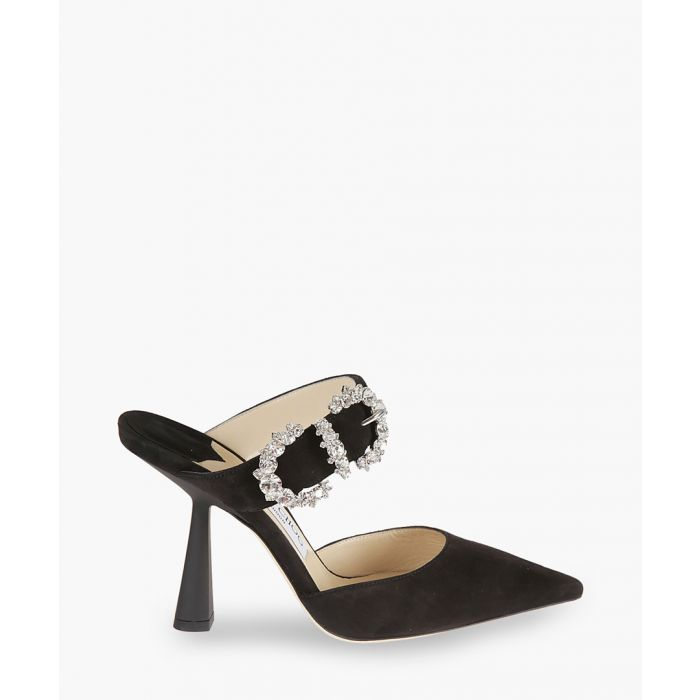 Image for Smokey 100 black leather pumps