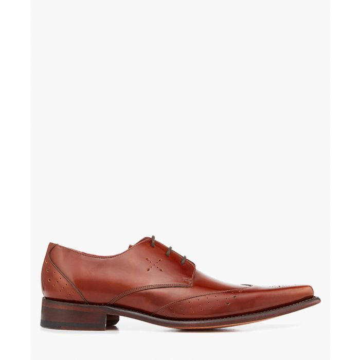 Image for Hemmings Yardbird walnut leather Derbys