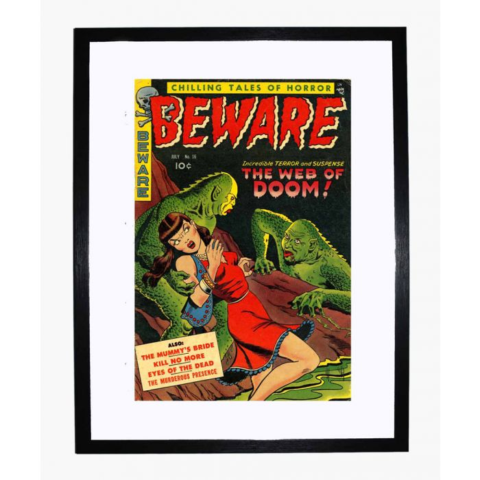 Image for Beware 16 framed print