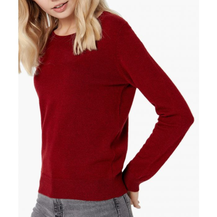 Image for Wine pure cashmere jumper