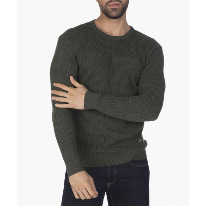Image for Green cotton  jumper