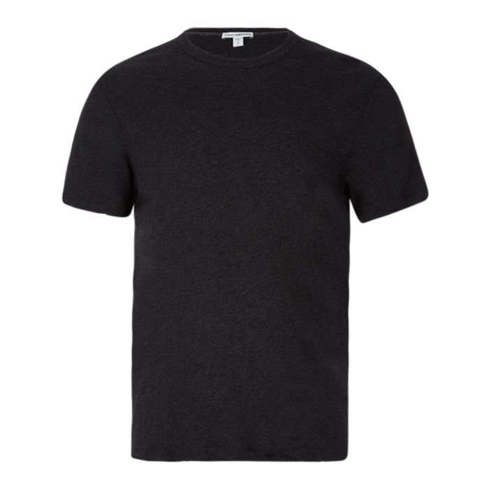 Image for Anthracite pure cotton T-shirt