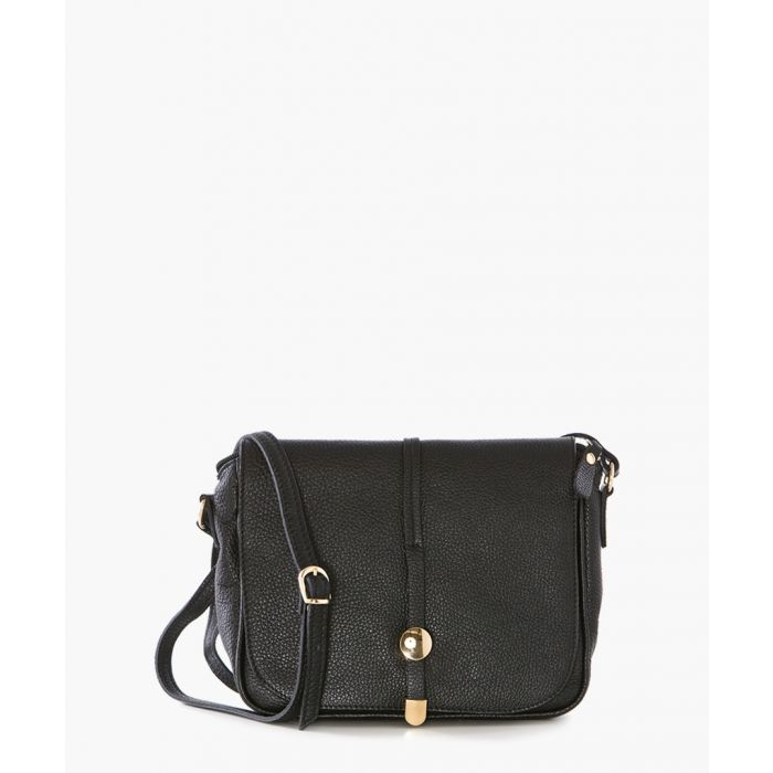 Image for Botte Donato black leather crossbody