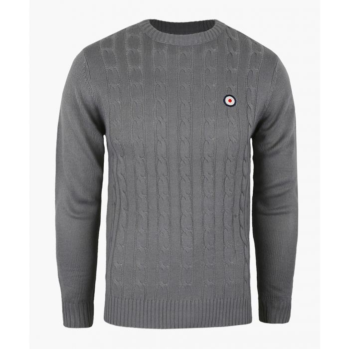 Image for Putney Bridge target cable knit crew