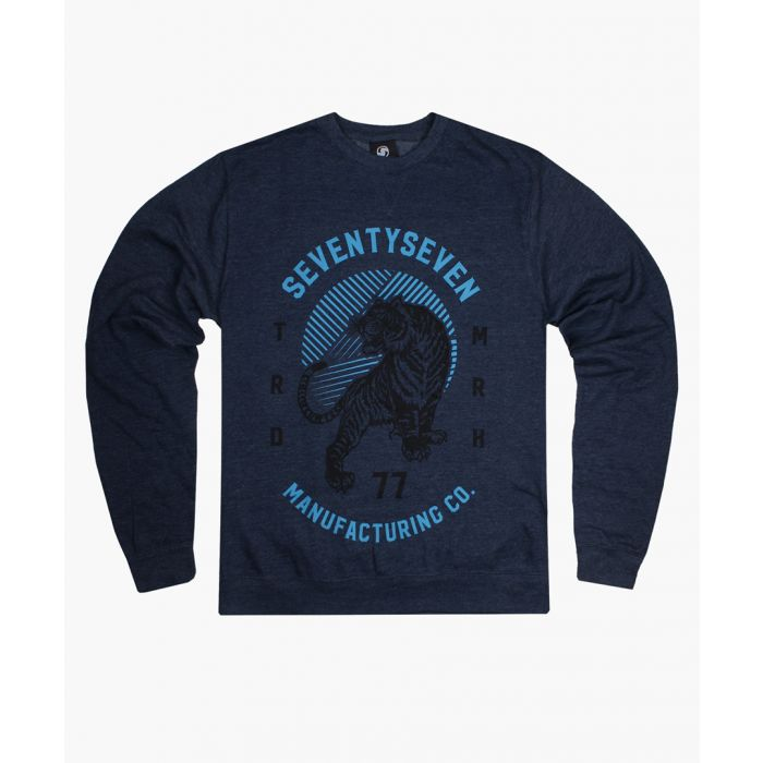 Image for Navy crew neck sweater