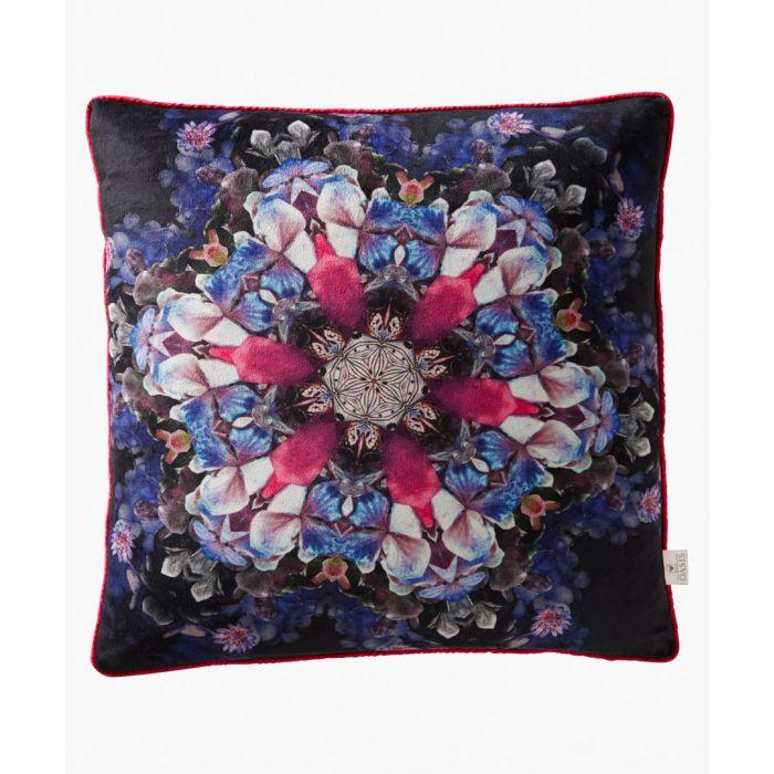 Image for Florianna Kaleidoscope multi-coloured cushion 43cm