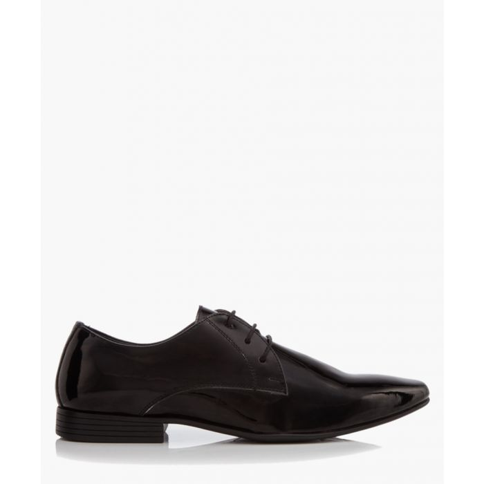 Image for Kendal black leather Derby shoes