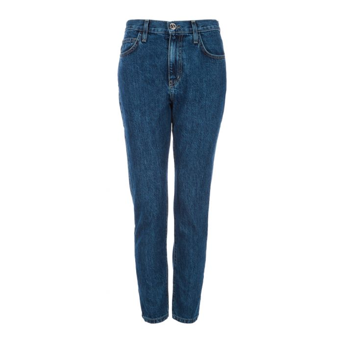 Image for The Vintage cropped blue jeans
