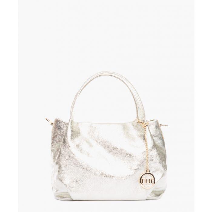 Image for Vigentino silver-tone shoulder bag