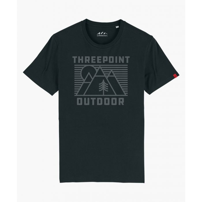 Image for Outdoor Lines black T-shirt
