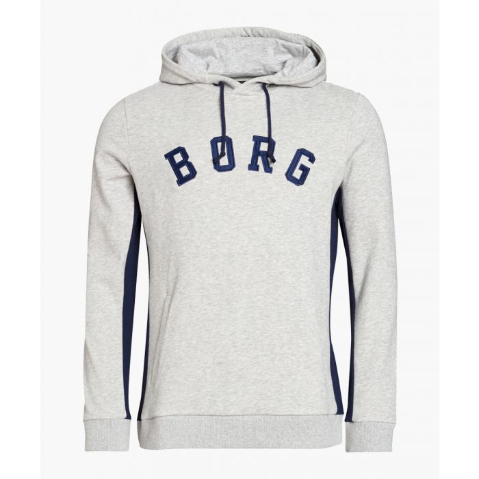 Image for Grey pure organic cotton hoodie