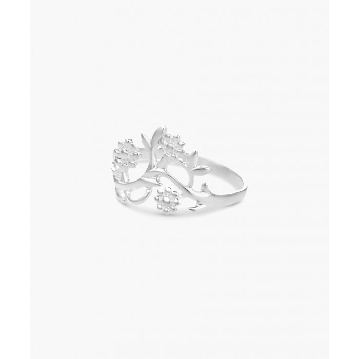 Image for Sterling silver flowering branch ring