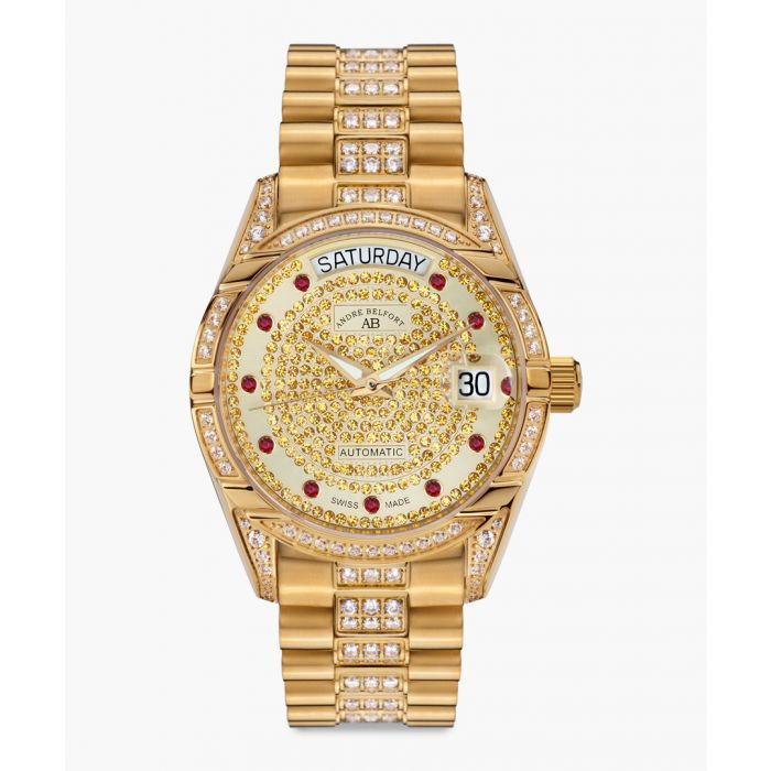 Image for Comete II gold-tone watch