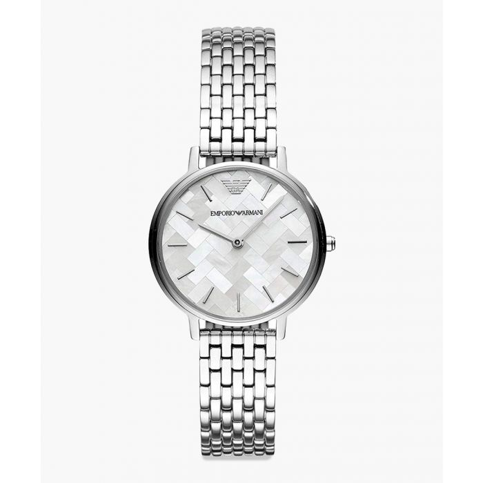 Image for Silver-tone stainless steel watch