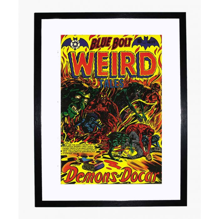 Image for Blue Bolt Weird 119 framed print