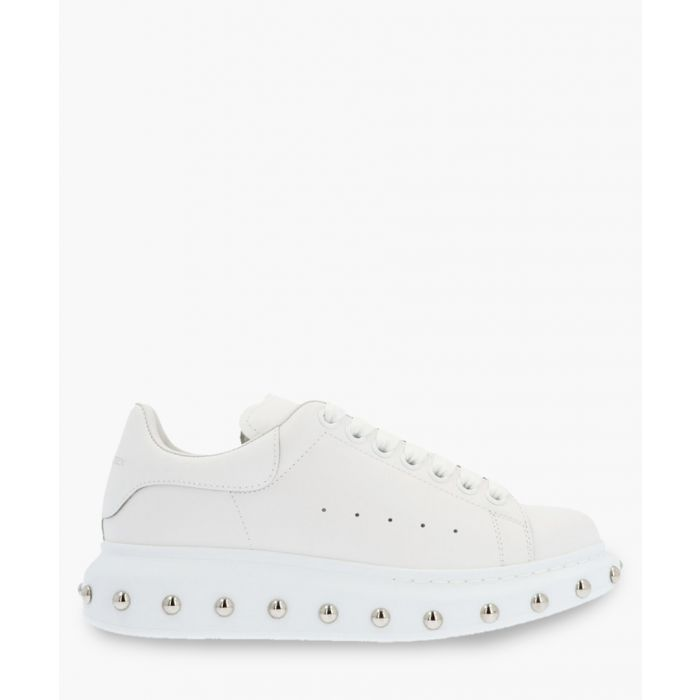 Image for White studded trainers