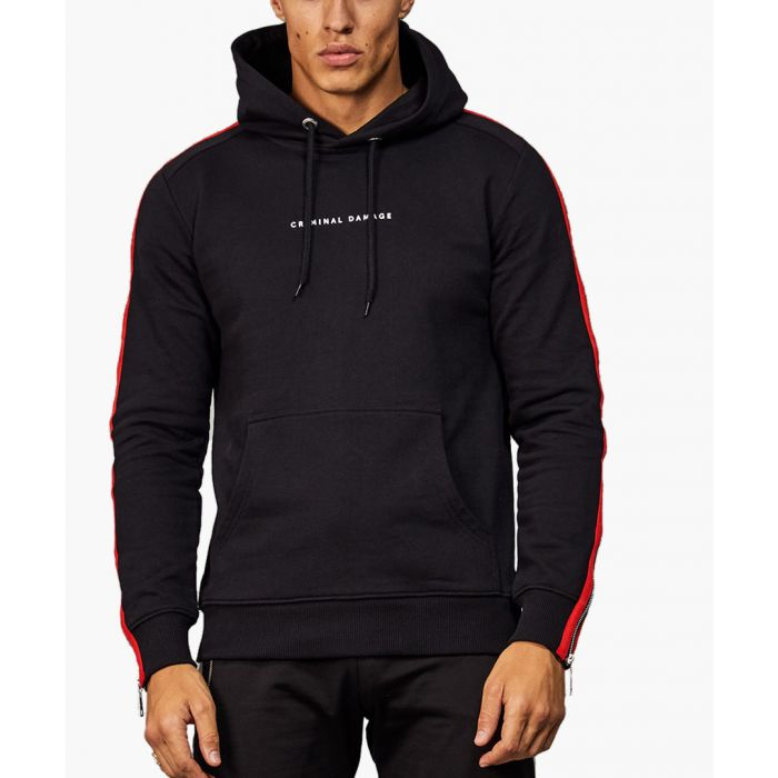 Image for Multi-coloured cotton hoodie