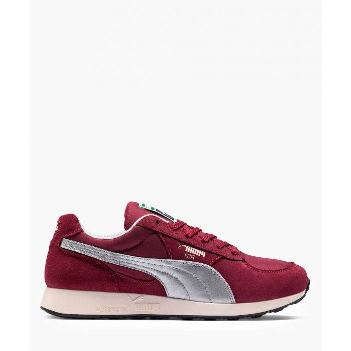 Image for RS-1 CC cordovan suede trainers