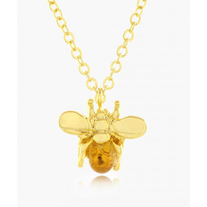 Image for The Bee 16k gold-plated necklace