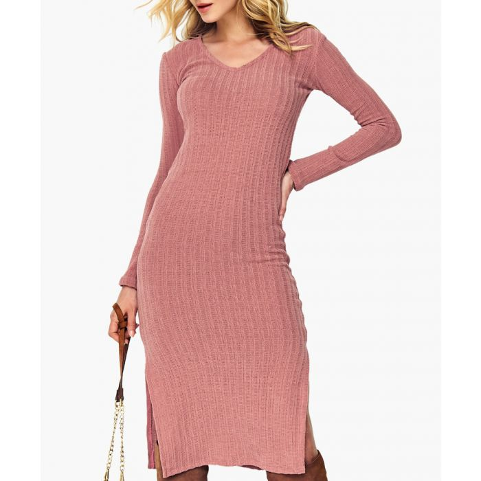 Image for Dirty pink knitted jumper