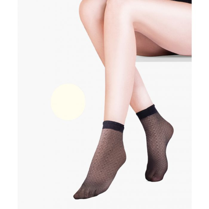Image for Flo ecru ankle socks 20 denier