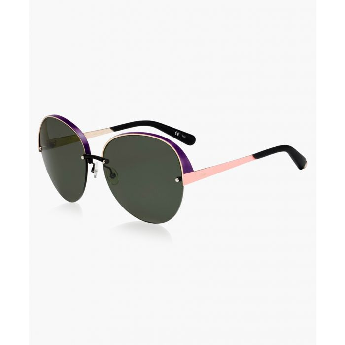 Image for Rose gold-tone sunglasses
