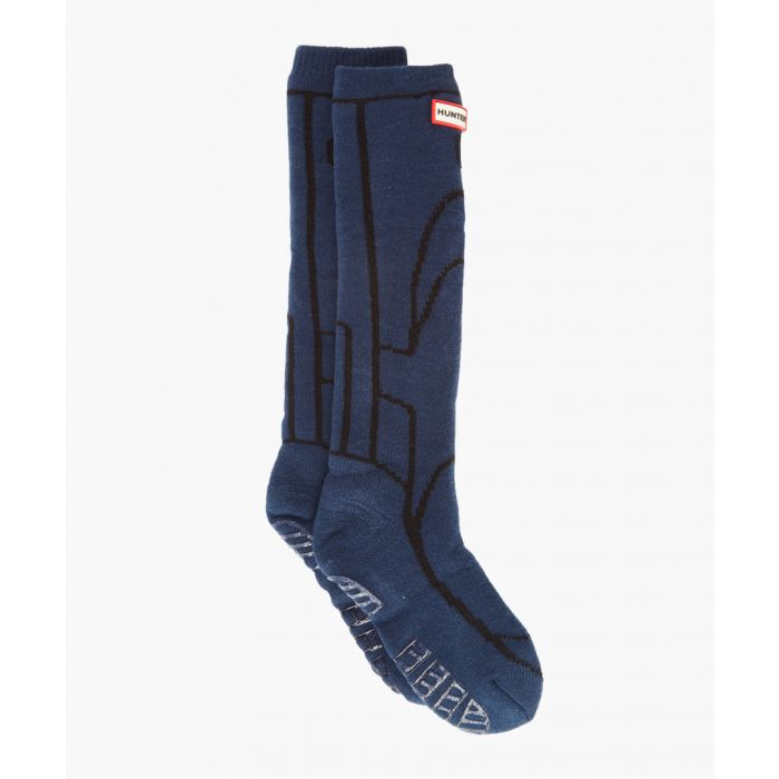 Image for Navy boot socks