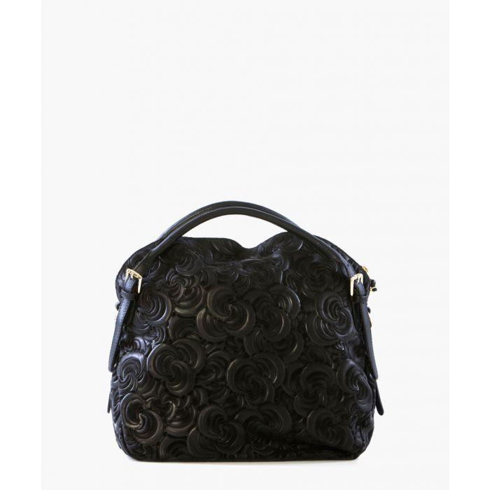 Image for Latisana black leather grab bag