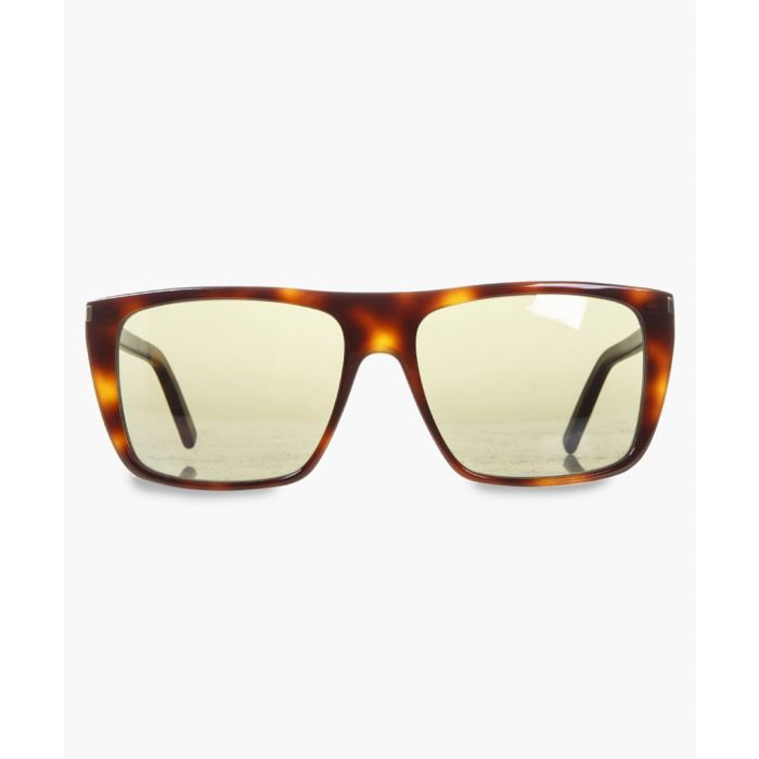 Image for Havana print frame sunglasses