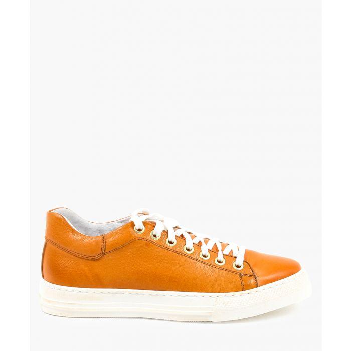 Image for Orange trainers