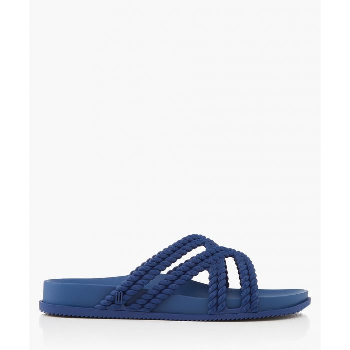 Image for Melissa Cosmic Rope blue Cross Sandals