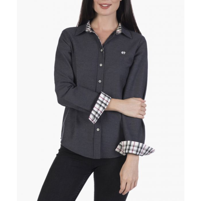 Image for Grey cotton shirt