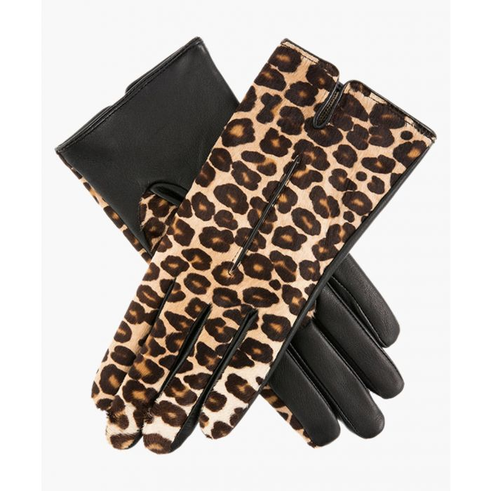 Image for Leopard print gloves