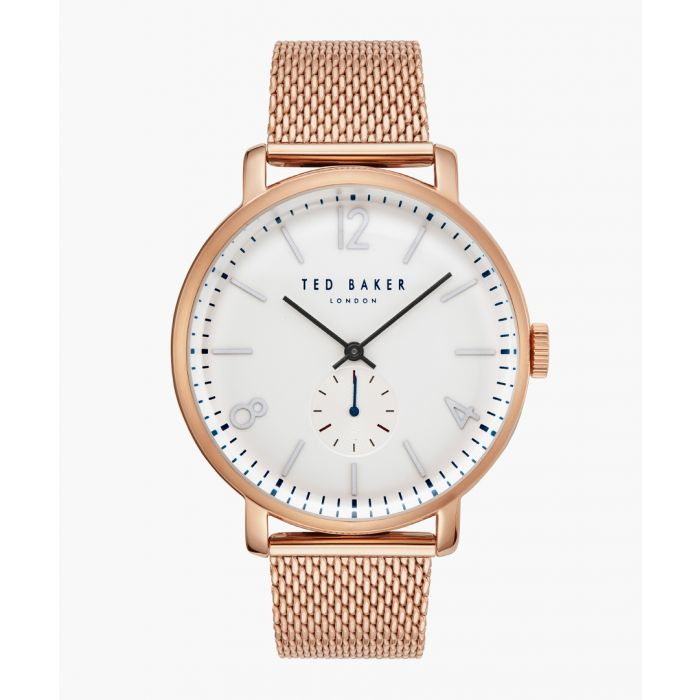 Image for Oliver rose gold-tone stainless steel watch
