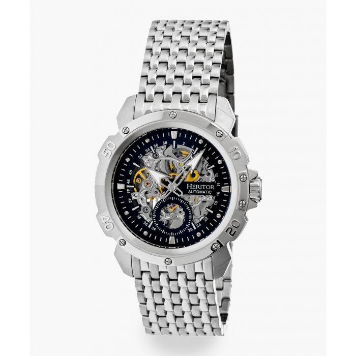 Image for Heritor Automatic Conrad silver-tone watch