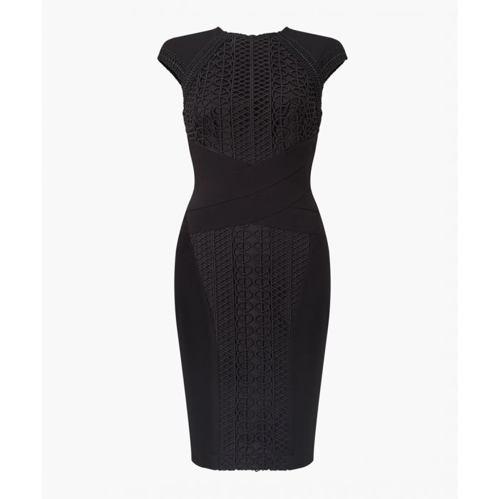 Image for Black bodycon dress
