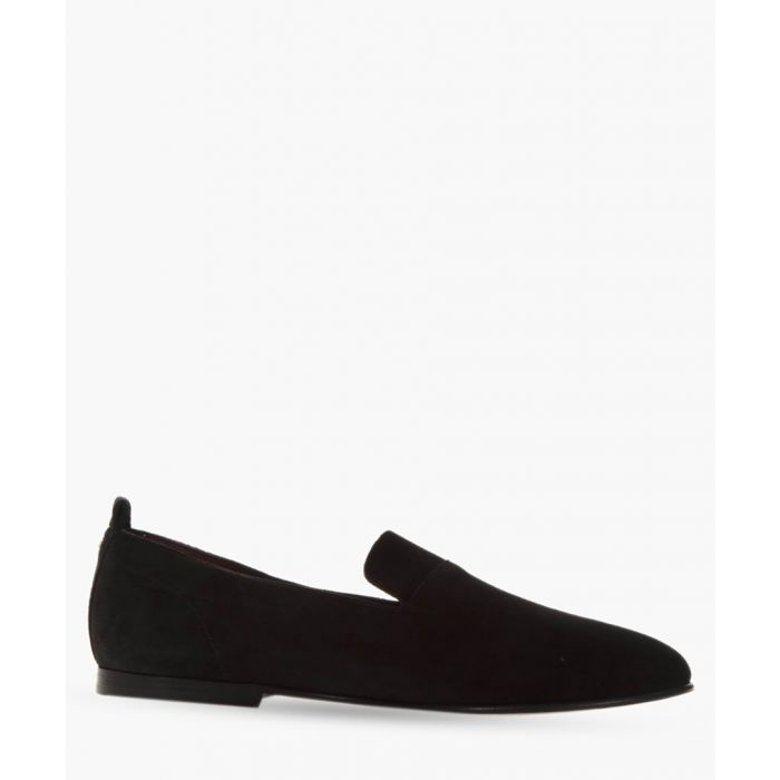Image for Black slip-on loafers