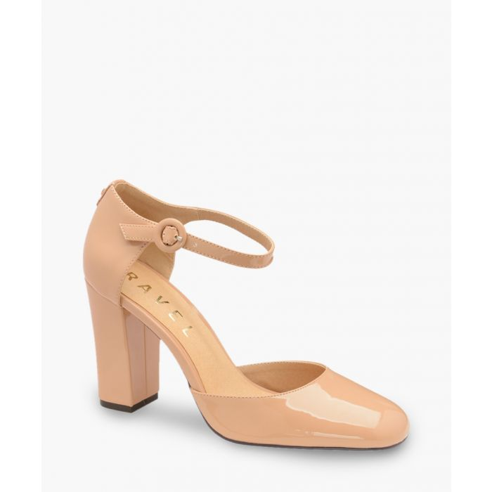 Image for Nude block heels