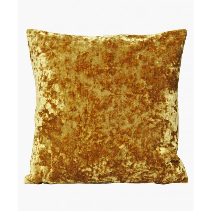 Image for Roma gold-tone textured cushion