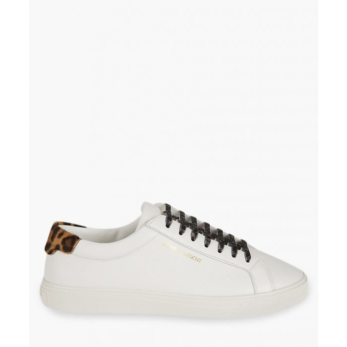 Image for Andy multi-coloured leather and pony trainers