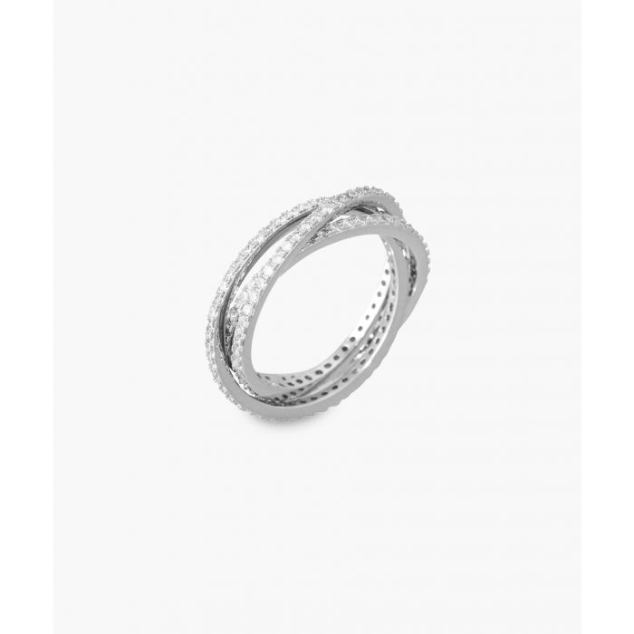 Image for Lucky Trio silver-plated ring
