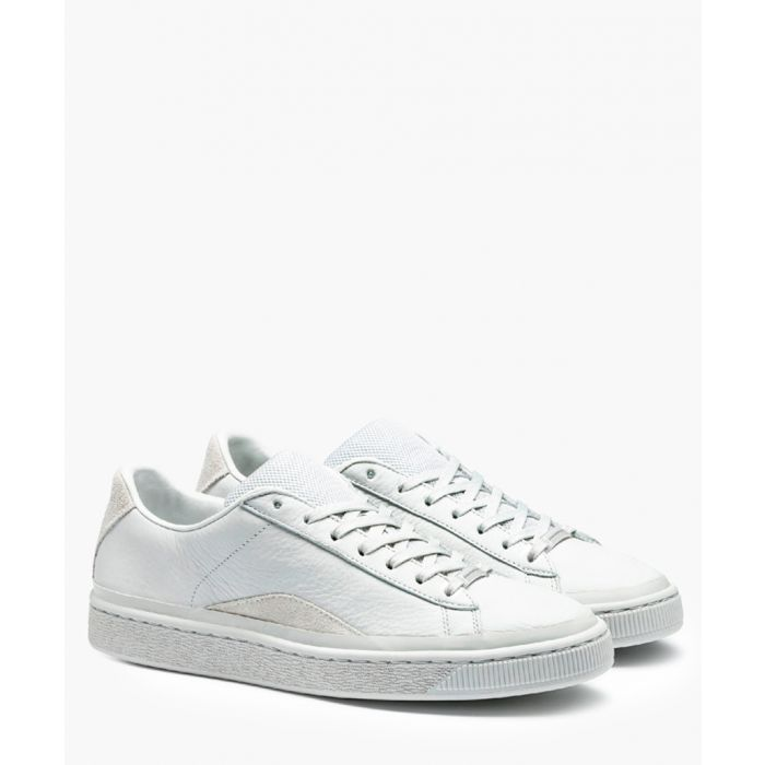 Image for Basket Han white trainers