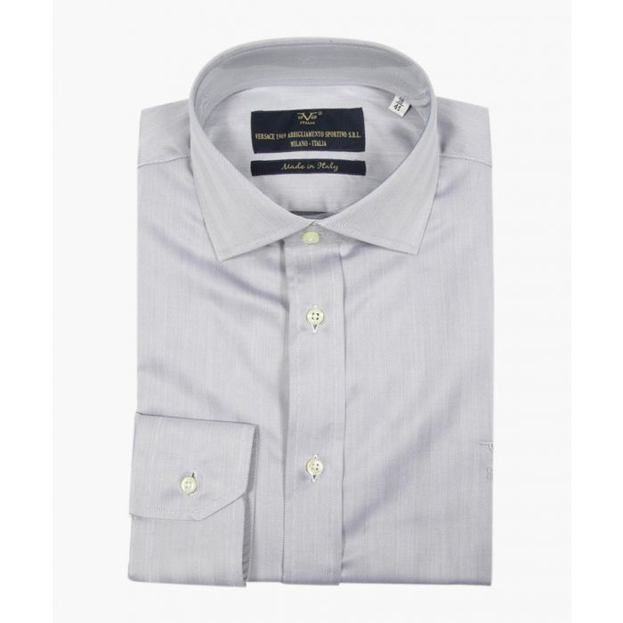Image for Grey pure cotton classic collar shirt