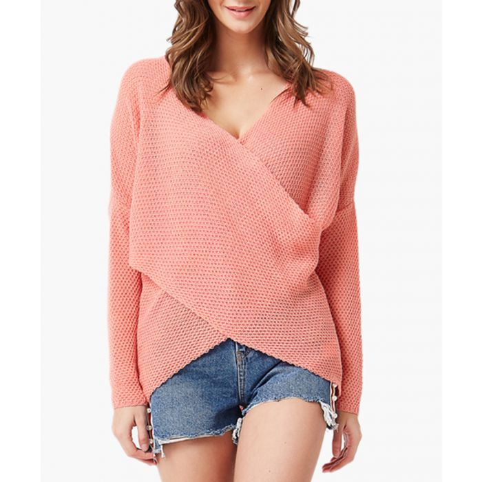 Image for Raspberry loose cut jumper
