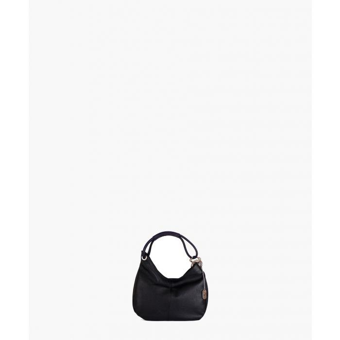 Image for Alba black and purple shoulder bag