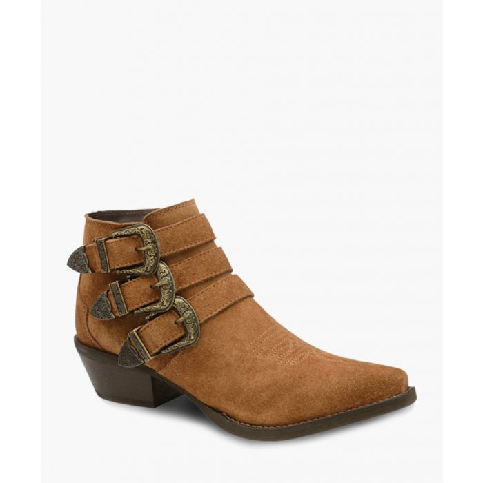 Image for Tan ankle boots