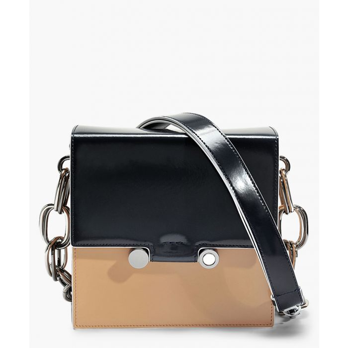 Image for Caddy black and beige crossbody