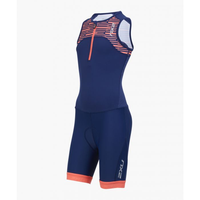 Image for Active Youth navy trisuit